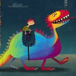 Pocho, el dragón multicolor