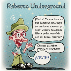 Roberto Underground Font